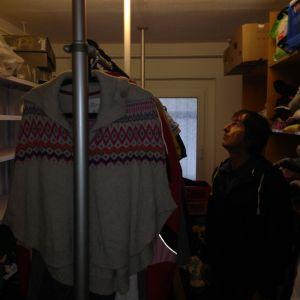 Die Kleiderkammer hat noch Platz