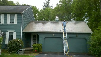 Roof Washing Project