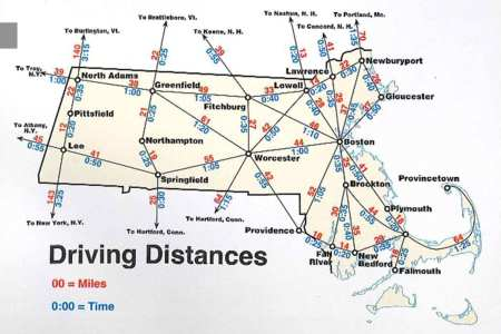 map distance miles