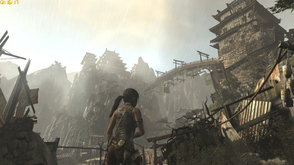 Tomb Raider beautiful architecture