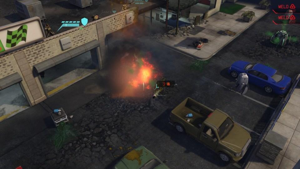 XCOM Firing from roof