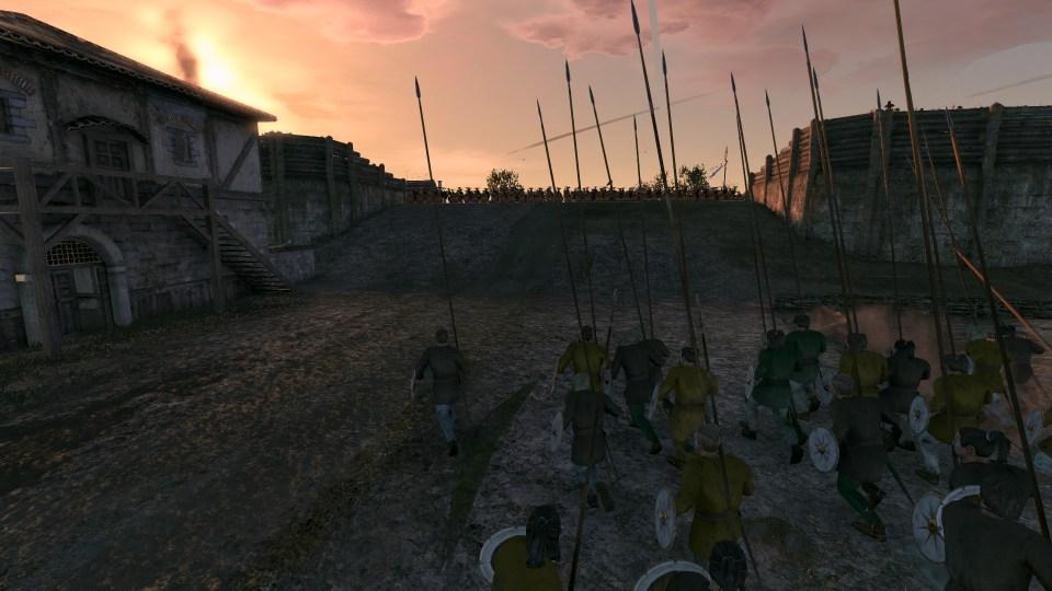 Attila - Ostrogoths surging uphill