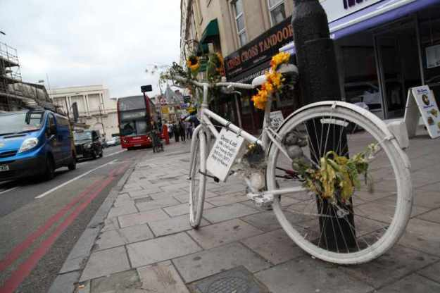 Ghost Bike -  present location