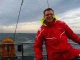 Hanse Sail 2014 - ich an der Pinne