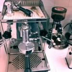 Steampunkkaffeemaschine