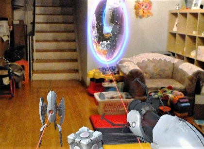 HoloLens lasers