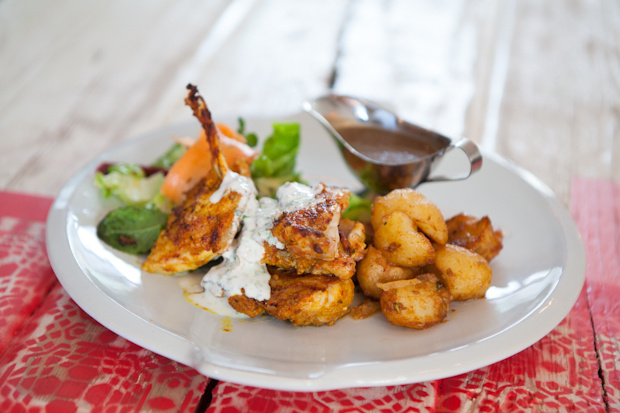 Mat Smith Photography Blog - Jamie Oliver Union Jacks - Empire Chicken side shot