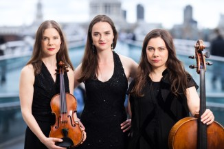 Mat Smith Photography - Trio Portraits on Bridge over the Thames