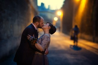 Nat & Ivan's wedding in Oxford - Mat Smith Photography - The Kiss