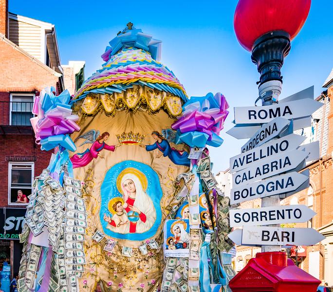 Madonna Della Cava in Boston's North End