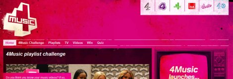 4Music Screengrab