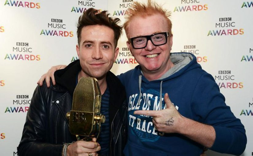 Evans and Grimmy on the Telly