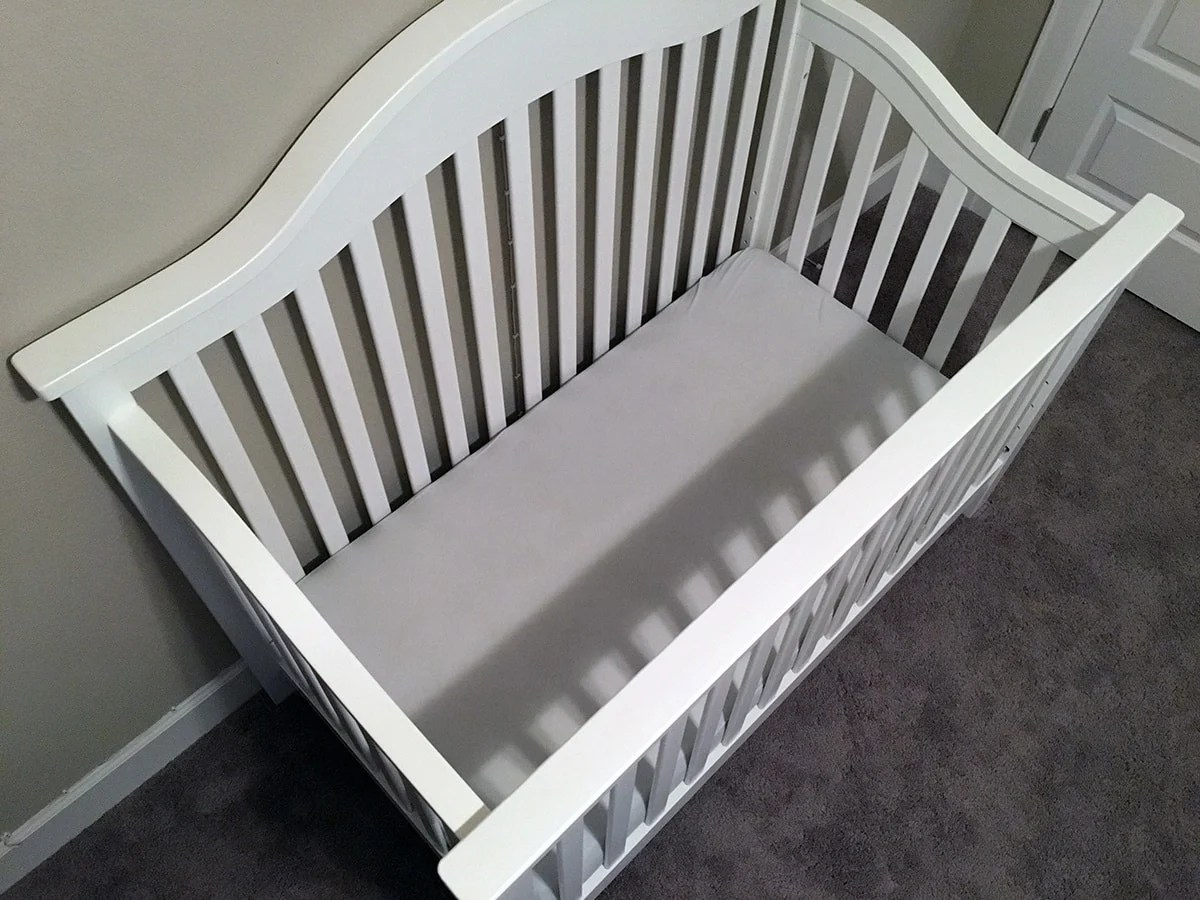 Affordable Between Mattress Naturepedic Organic Crib Mattress Review Your Thiscreates A Dangerous Space Where Heads Can Get Stuck You Want Any Gaping baby Breathable Crib Mattress