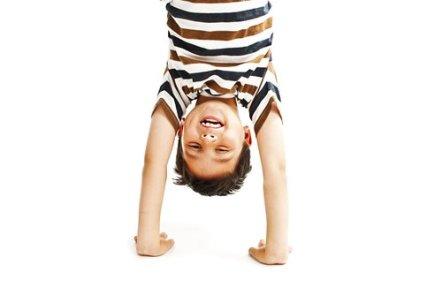 kid handstand