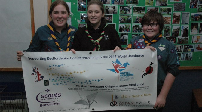 Maulden Scouts head for World Scout Jamboree in 2015