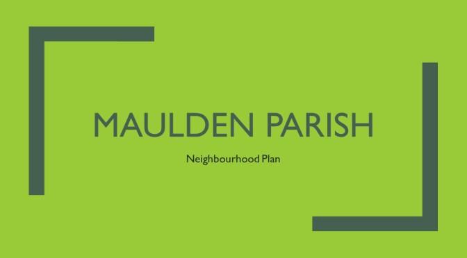 Neighbourhood Plan Presentation to the Parish Council