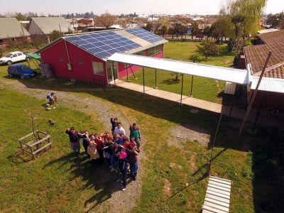 Programa Techos Solares Públicos. Proyecto fotovoltaico Escuela Diferencial, San Clemente FOTO: © Hugo MUNOZ
