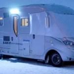 Inverno in camper: proteggiamoci dall'esterno