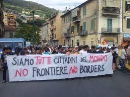 No Borders a Ventimiglia