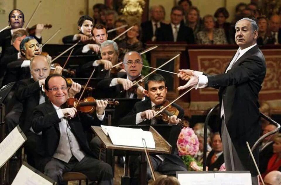 Orchestra Netanyahu, Hollande primo violino