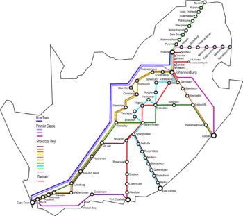 rail Journey RSA