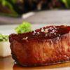 Lombo de porco braseado com inhame e ervas Go Whhere Gastronomia Dois Cozinha Contemporânea Chefs: Felipe Ribemboin e Gabriel Broide