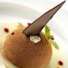 Coupole de chocolate meio amargo e cupuaçu Restaurante Santi Chef: Douglas Santi