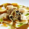 Carpaccio de Pupunha com Vieiras, Lulas e Foie Gras Restaurante D.O.M. Chef: Alex Atala
