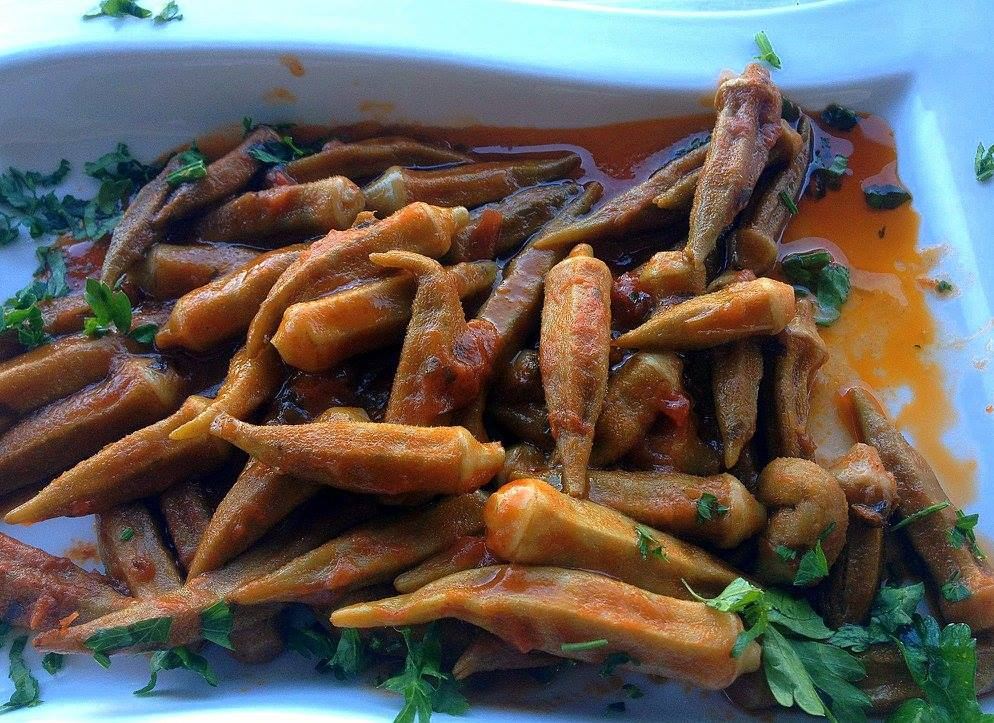 #Greece #Greekfood #bamies #travelblog #maverickbird