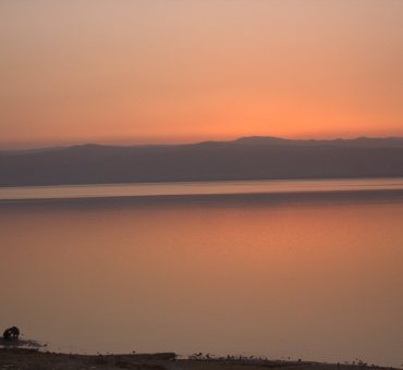 Dead Sea and the Holy Mountain