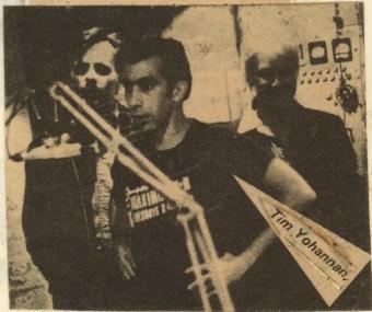 Tim on MRR Radio, ca. 1981