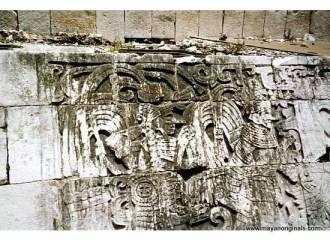 Wall engravings Chitzen itza