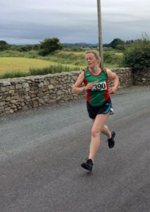 Breege Staunton in Tireragh 5k