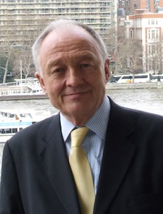 London's Greens endorse Ken Livingstone