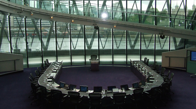All 25 seats on the London Assembly will be contested next year.