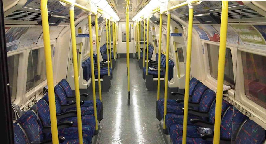 No Tube trains will tun after 18.30 Wednesday evening.