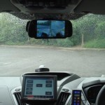 Monitors inside the vehicles allow officers to check on their prisoners.