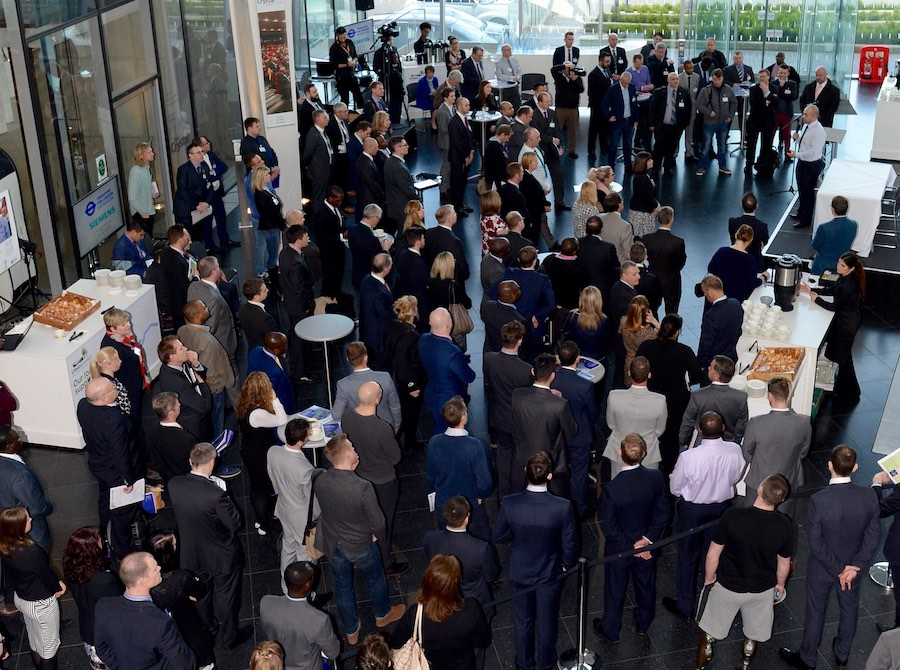 More than 100 former members of the Armed Forces attended the TfL event.