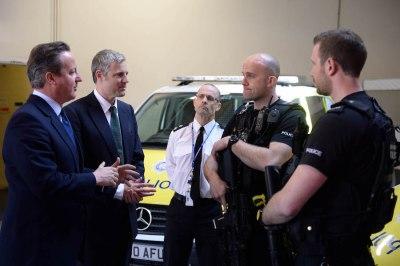 Cameron warns Londoners against 'sleepwalking into a Khan-Corbyn experiment'