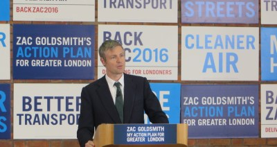 Zac Goldsmith pledges to create 500,000 new jobs for London workers