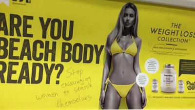 Transport for London announces ban on body-shaming adverts