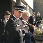 Sir Bernard with former Mayor Boris Johnson