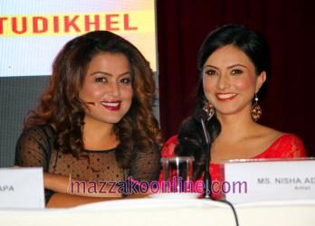 Rekha Thapa and Nisha Adhikari
