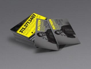 Mateen Stewart Business Cards