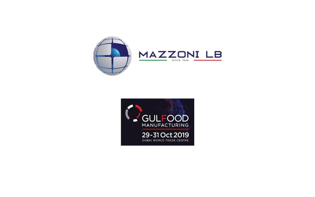 MAZZONI LB IN GULFOOD MANUFACTURING 2019 DUBAI