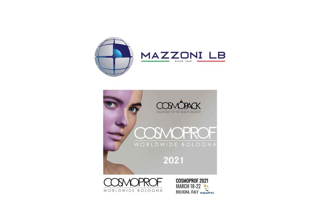 MAZZONI LB IN COSMOPROF BOLOGNA 2021 ITALY