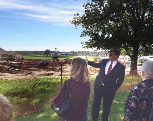 HLGU Trustees hear update on construction