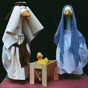 Four Creepy Nativity Scenes
