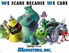 The Gospel According To Pixar: Monsters, Inc.