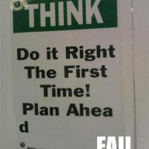 FAIL of the Week: Following One's Own Advice